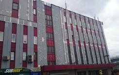 Ремонт фасада торгового центра - до 5
