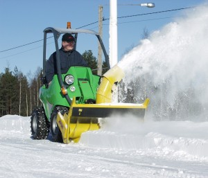 Услуга уборки снега