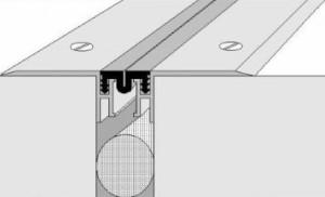 Схема герметизации деформационных швов